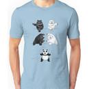 Dragon ball Z - Bear Panda fusion Unisex T-Shirt