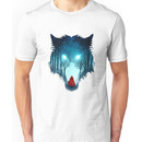 Big Bad Wolf (dark version) Unisex T-Shirt