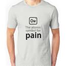 Atomic Symbol for Pain Unisex T-Shirt