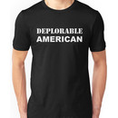 Deplorable American #basketofdeplorables Election 2016 White Unisex T-Shirt