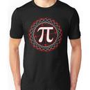 Pi  Sign Drawing White Unisex T-Shirt