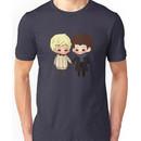 Merlin and Arthur as Sherlock and John Unisex T-Shirt