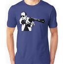 Hunter S Thompson - Gun - Large Unisex T-Shirt