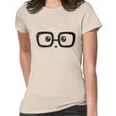 Geek Chic Panda Eyes Women's T-Shirt