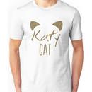 KatyCat Golden Glitter Unisex T-Shirt