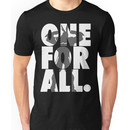 One For All - All Might (white version) Unisex T-Shirt