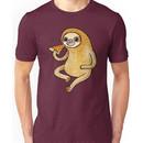 Sloth Eating Pizza Unisex T-Shirt