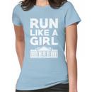 Run Like A Girl - Hillary Clinton Women's T-Shirt