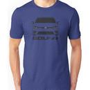 MK7 VW Golf R Front View Unisex T-Shirt
