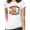 Keep Calm & Rainbow On (Light) Women's T-Shirt