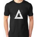 Bastille Birds Triangle White Unisex T-Shirt