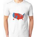 Donald Trump 45th US President - USA Map Election 2016 Unisex T-Shirt