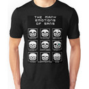 The Many Emotions Of Sans - Undertale Unisex T-Shirt