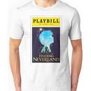 Finding Neverland Playbill Unisex T-Shirt