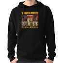 Capone and Noreaga The War Report Cover Art Supreme Hoodie (Pullover)