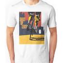 retro styled Tour de France cycling illustration poster print: SHUT UP LEGS Unisex T-Shirt