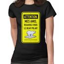le bear polar sign/lemon Women's T-Shirt