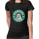 Star Pugs Coffee - Starbucks Women's T-Shirt