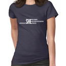 Nevertheless She Persisted (White Staggered) Women's T-Shirt