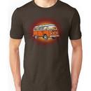 Bay Window Campervan Sunburst Unisex T-Shirt