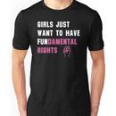 Cyndi Lauper's Official Girls Just Want to Have Fundamental Rights Shirt Unisex T-Shirt