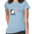 lil girl and red birdy as a tee Women's T-Shirt