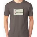 Star Wars Nerf Herder quote Unisex T-Shirt