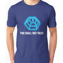 You shall not pass - ForceField blue Unisex T-Shirt
