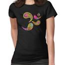 Retro Paisley Om Yoga / Yogini T-shirt Women's T-Shirt