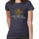He knows the Musketeer's motto... Women's T-Shirt