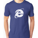 Internet Explorer: A More Beautiful Web Unisex T-Shirt