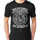 Beifong Metalbending Academy - White & Silver Unisex T-Shirt