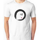 """Zen"" calligraphy & Enso circle of enlightenment Unisex T-Shirt"