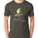 Orange-bellied Parrot products (dark background colours) Unisex T-Shirt