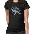 Crazy Dinosaur Lady (Tyrannosaurus)  Women's T-Shirt