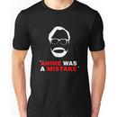 """Anime Was A Mistake"" - White Design Unisex T-Shirt"