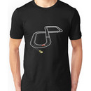 Getting off track Unisex T-Shirt