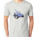 Dune Buggy Manx w Surfboard Unisex T-Shirt
