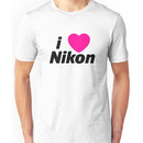 I Love Nikon -  But I own a canon! Unisex T-Shirt