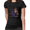 Doctor Who- Tenth Doctor Devid Tennant  Women's T-Shirt