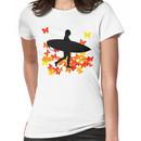 Butterfly surf - Wave rider  Women's T-Shirt