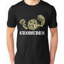 Geodude (white text) Unisex T-Shirt