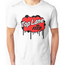 League of Legends: Top Lane or Feed Unisex T-Shirt