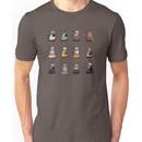 Daleks in Disguise Pattern Unisex T-Shirt