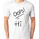 Oops! Hi - Larry Stylinson Tattoos Unisex T-Shirt