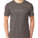 5 out of 4 people have a problem with fractions Unisex T-Shirt