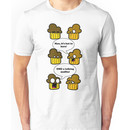 Two Muffins Were in an Oven... Unisex T-Shirt