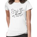 Magic in the night - black text Women's T-Shirt