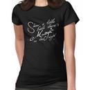 Magic in the night - white text Women's T-Shirt