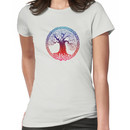 Celtic Tree (inverted sunset) Women's T-Shirt
